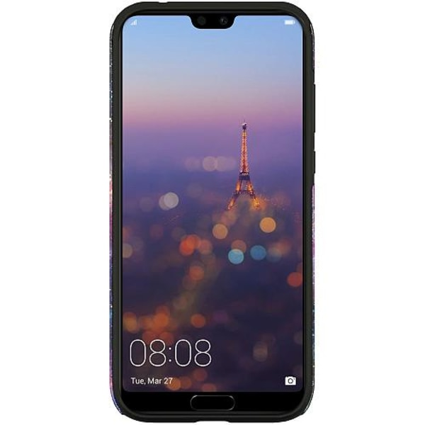 Huawei P20 Pro LUX Duo Case (Glansig)  Galaxy Business Cat