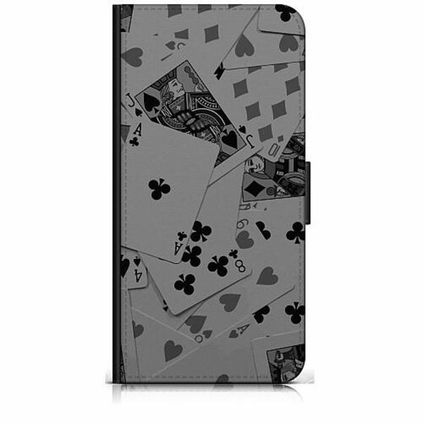 Samsung Galaxy A40 Plånboksfodral Dark Cards