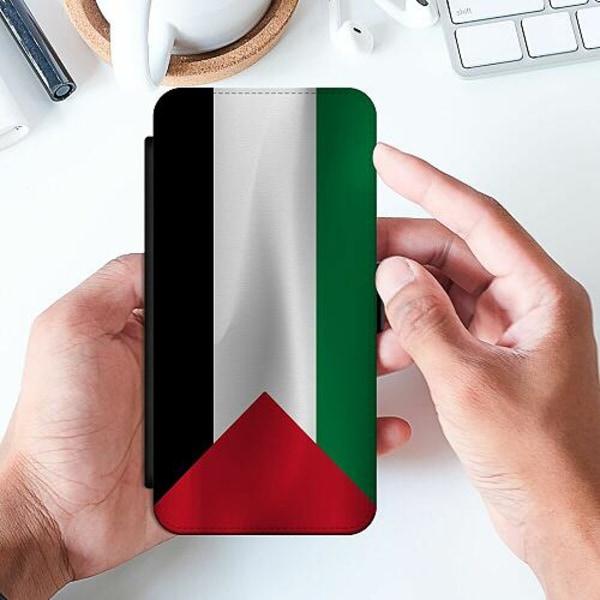 Samsung Galaxy S21+ Slimmat Fodral Palestina Flagga