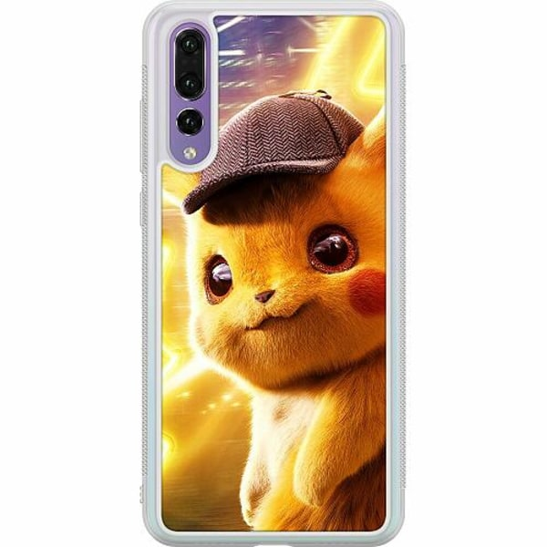 Huawei P20 Pro Soft Case (Frostad) Detective Pikachu - Pikachu