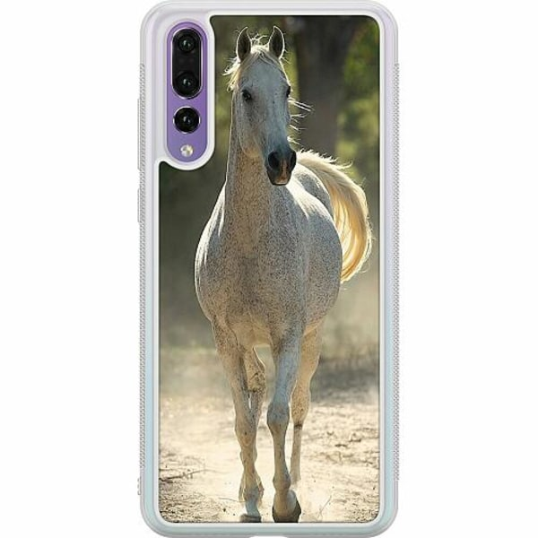 Huawei P20 Pro Soft Case (Frostad) Häst / Horse