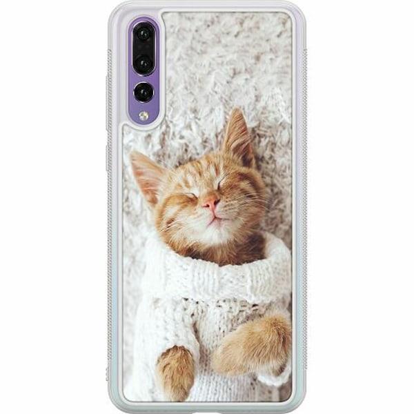 Huawei P20 Pro Soft Case (Frostad) Katt