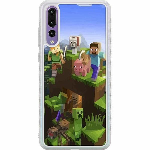 Huawei P20 Pro Soft Case (Frostad) MineCraft