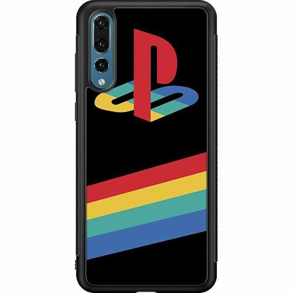 Huawei P20 Pro Soft Case (Svart) Playstation Retro