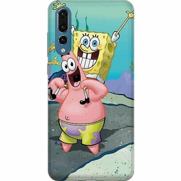 Huawei P20 Pro Thin Case SpongeBob Fyrkant