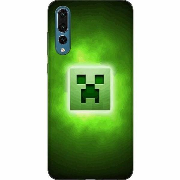 Huawei P20 Pro Thin Case MineCraft Rainbow