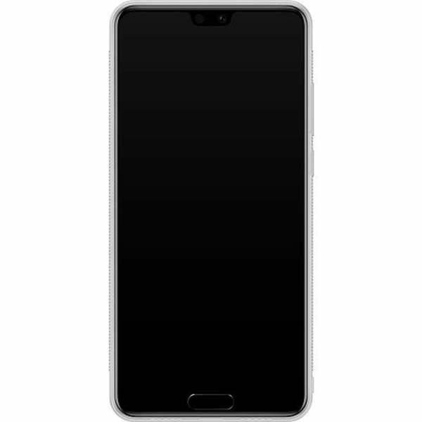 Huawei P20 Soft Case (Frostad) Nalle Puh