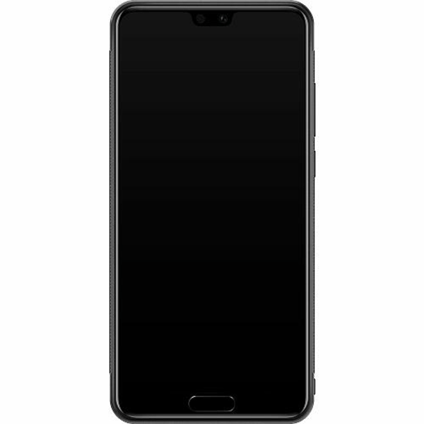 Huawei P20 Soft Case (Svart) Among Us