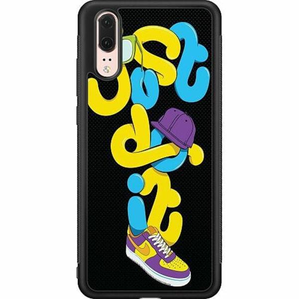 Huawei P20 Soft Case (Svart) Nike