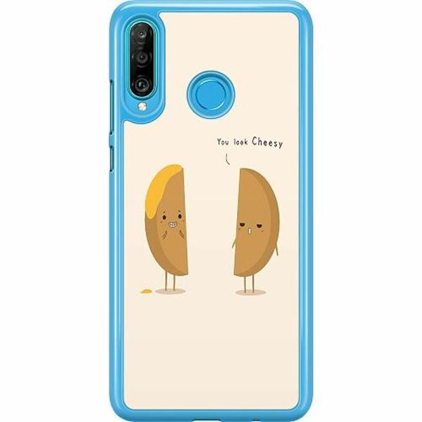 Huawei P30 Lite Hard Case (Transparent) Cheesy