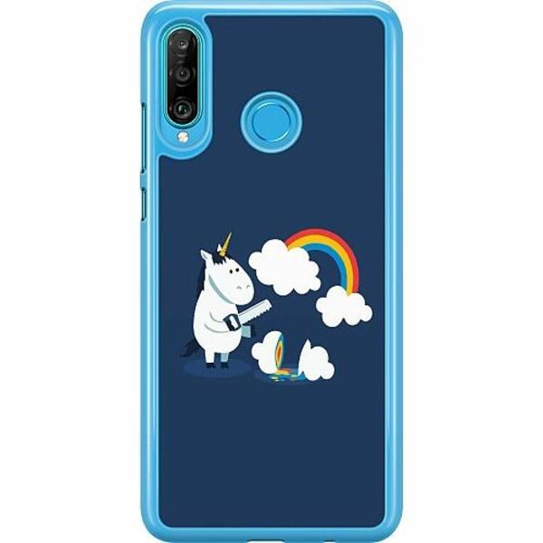 Huawei P30 Lite Hard Case (Transparent) UNICORN