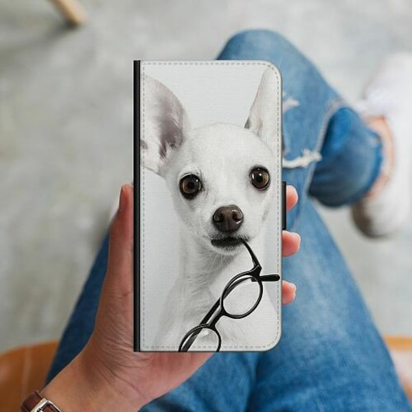 Samsung Galaxy S10 Plus Plånboksskal Chihuahua
