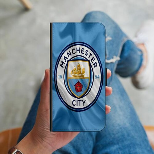 Apple iPhone 12 Plånboksskal Manchester City