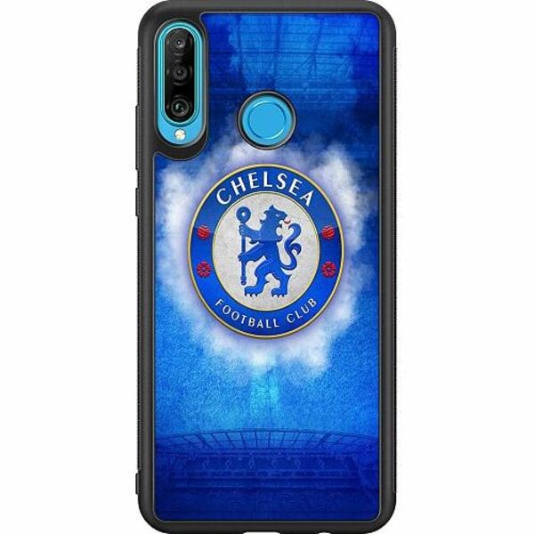 Huawei P30 Lite Soft Case (Svart) Chelsea