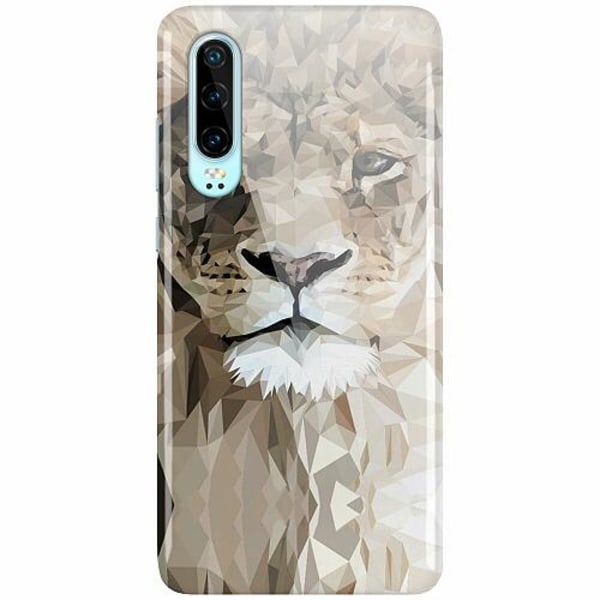 Huawei P30 LUX Mobilskal (Glansig) Abstract Lion