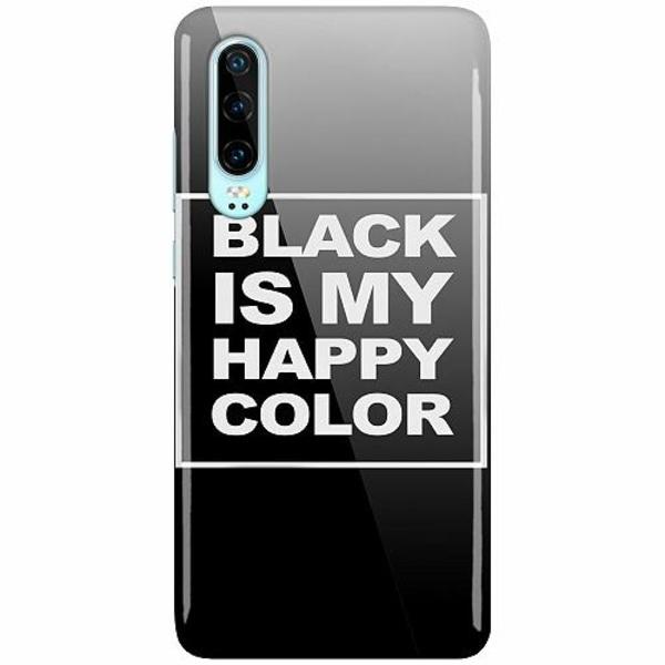 Huawei P30 LUX Mobilskal (Glansig) Black