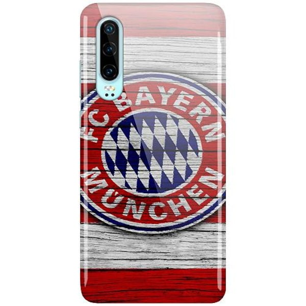 Huawei P30 LUX Mobilskal (Glansig) FC Bayern