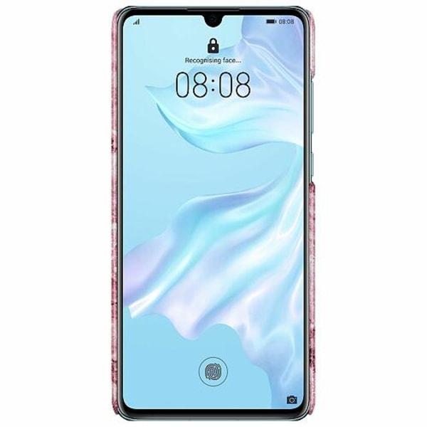 Huawei P30 LUX Mobilskal (Glansig) Glitter Marble