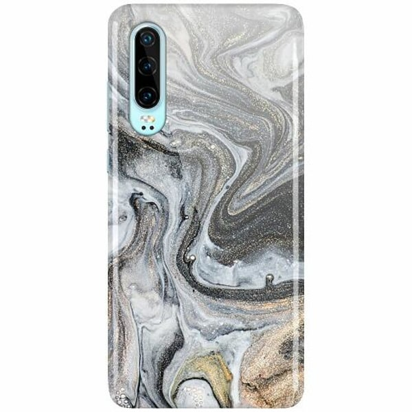 Huawei P30 LUX Mobilskal (Glansig) Grå