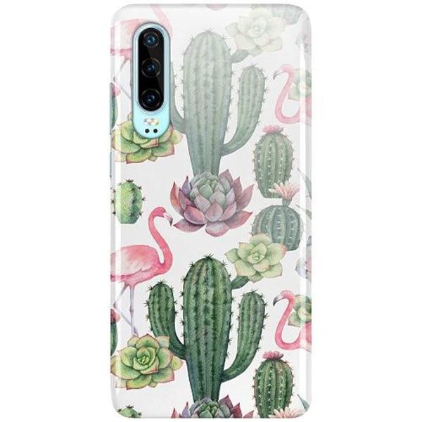 Huawei P30 LUX Mobilskal (Glansig) Kaktus