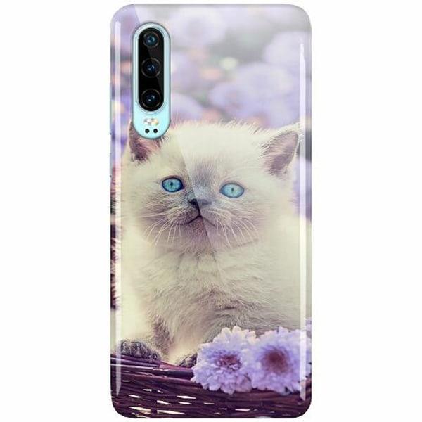 Huawei P30 LUX Mobilskal (Glansig) Katt