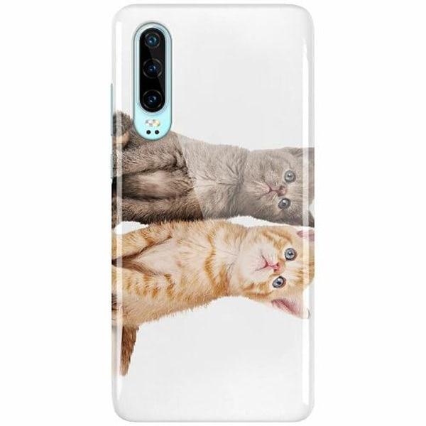 Huawei P30 LUX Mobilskal (Glansig) Katter
