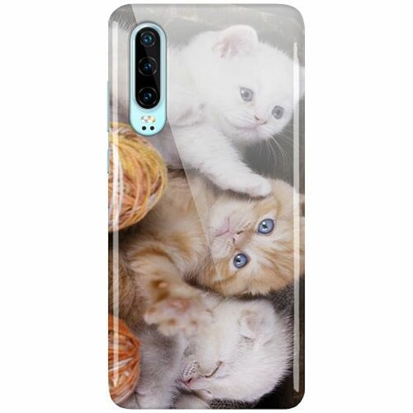 Huawei P30 LUX Mobilskal (Glansig) Kittens and Yarn