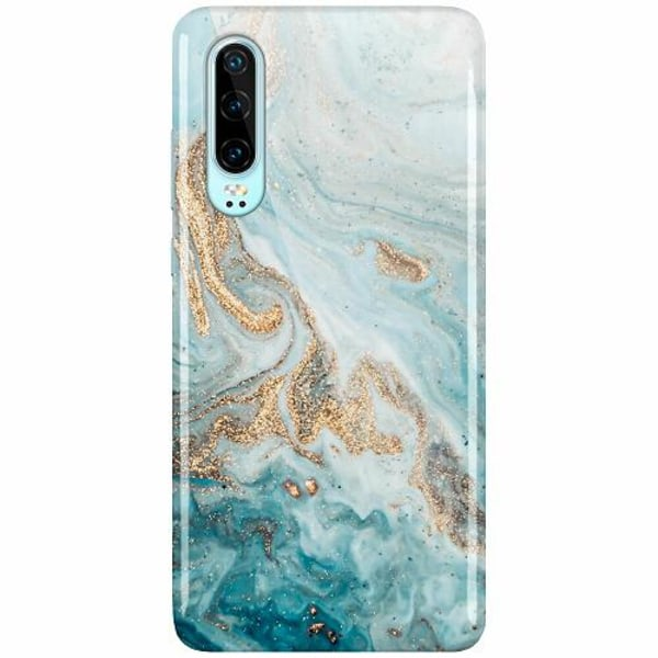 Huawei P30 LUX Mobilskal (Glansig) Magic Marble