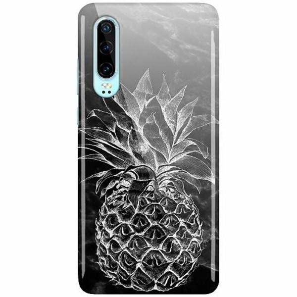 Huawei P30 LUX Mobilskal (Glansig) Marmor Ananas