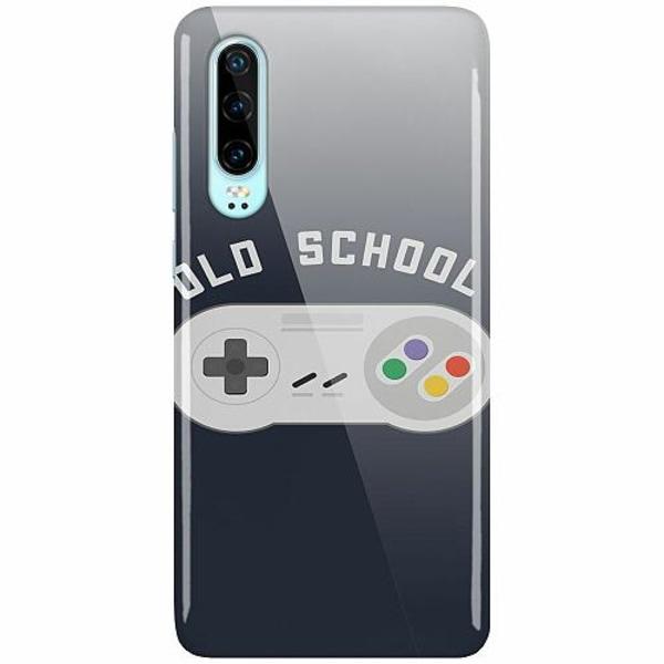Huawei P30 LUX Mobilskal (Glansig) Old School