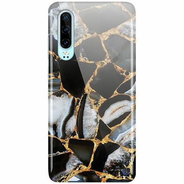 Huawei P30 LUX Mobilskal (Glansig) Onyx