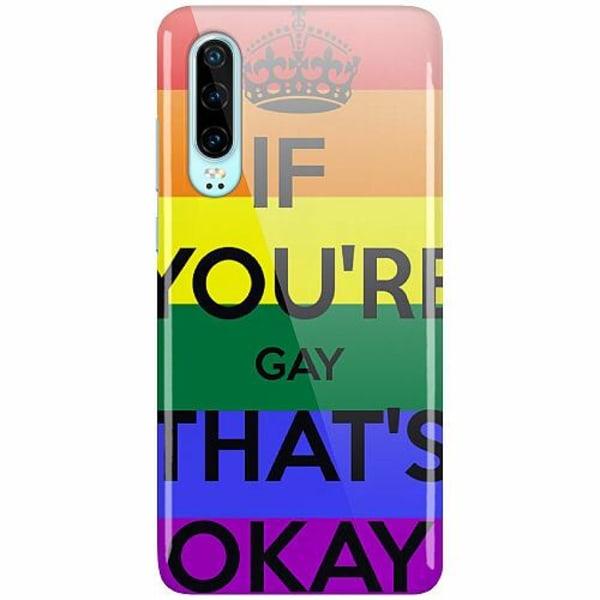 Huawei P30 LUX Mobilskal (Glansig) Pride