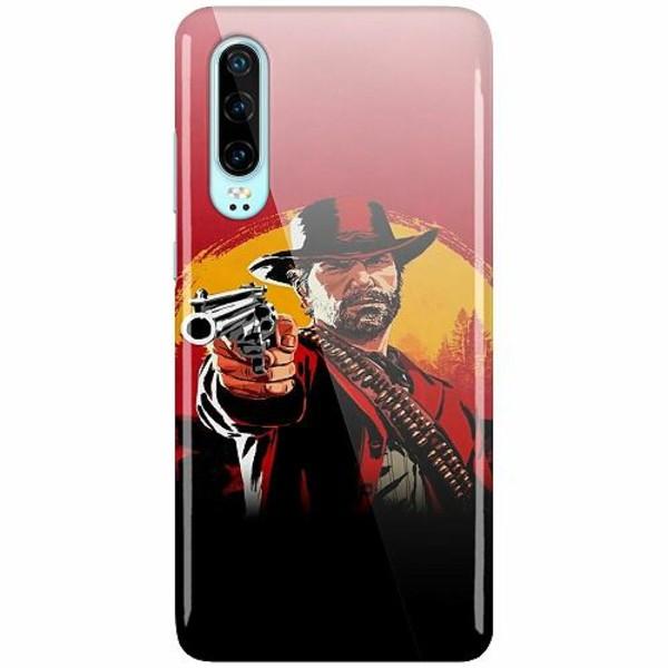Huawei P30 LUX Mobilskal (Glansig) Röd