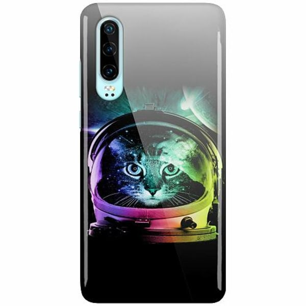 Huawei P30 LUX Mobilskal (Glansig) Space Cat