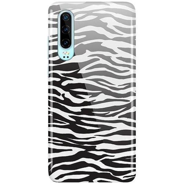 Huawei P30 LUX Mobilskal (Glansig) Zebra Mönster