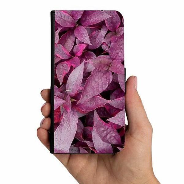 Samsung Galaxy A20s Mobilskalsväska Pink Shrubs