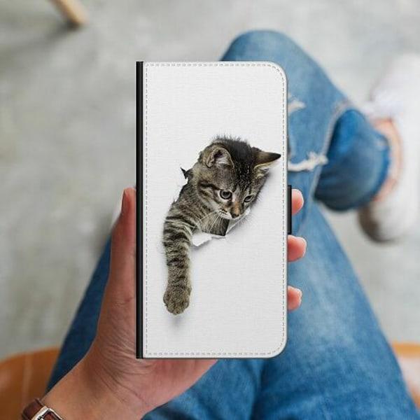 Samsung Galaxy S10 Plus Plånboksskal Katt