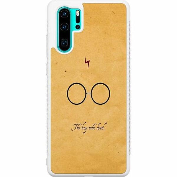 Huawei P30 Pro Soft Case (Vit) Harry Potter