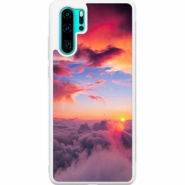 Huawei P30 Pro Soft Case (Vit) Moln