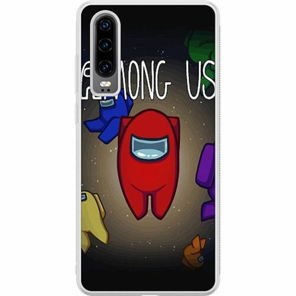 Huawei P30 Soft Case (Frostad) Among Us