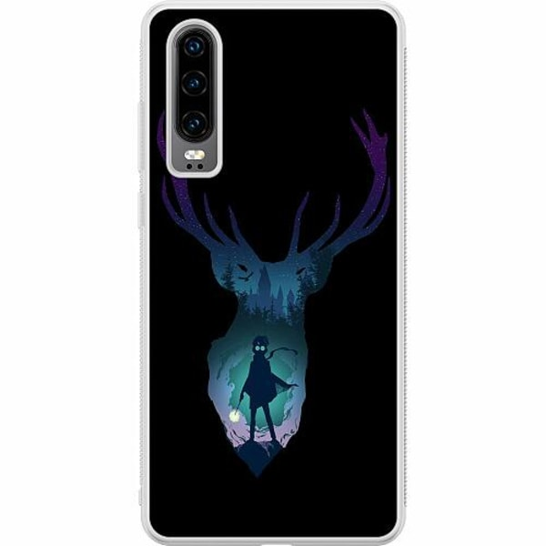 Huawei P30 Soft Case (Frostad) Harry Potter