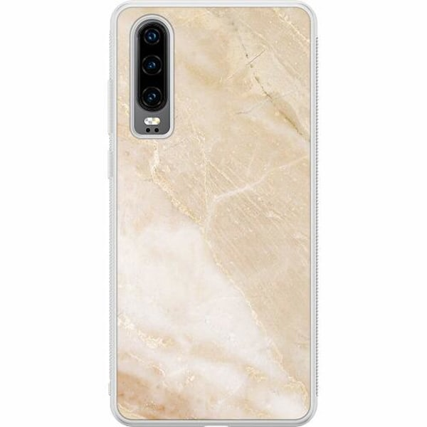 Huawei P30 Soft Case (Frostad) More Marble