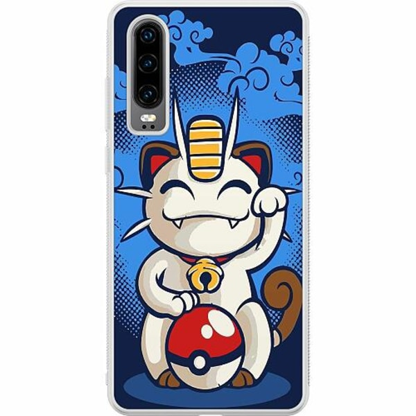 Huawei P30 Soft Case (Frostad) Pokemon