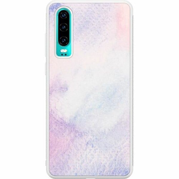 Huawei P30 Soft Case (Vit) Frosted Frost