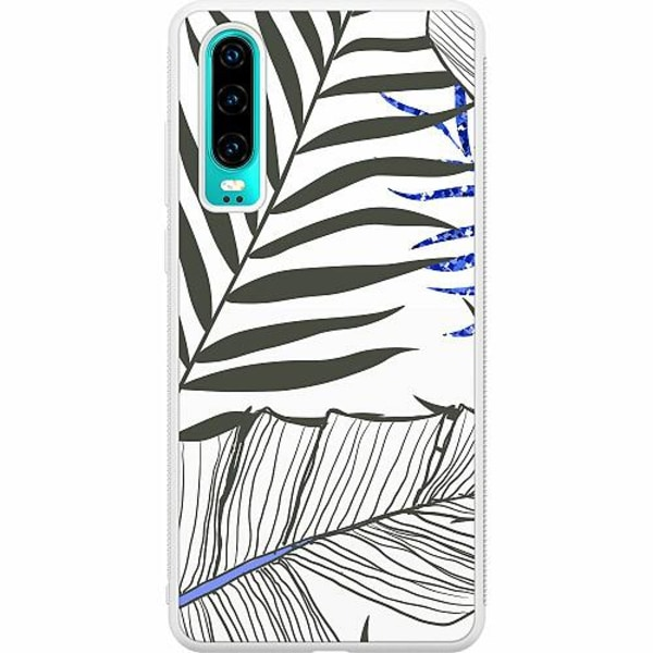 Huawei P30 Soft Case (Vit) Mainly White