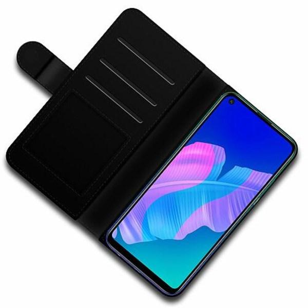 Huawei P40 Lite E Lyxigt Fodral Bokstäver