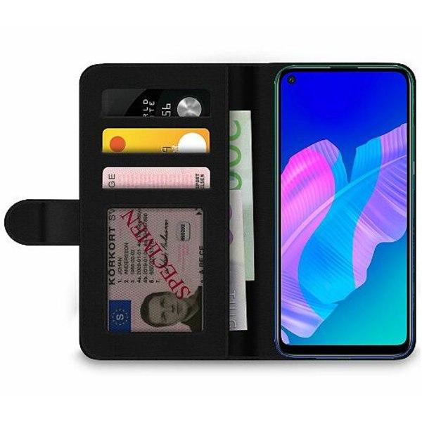 Huawei P40 Lite E Wallet Case Mönster