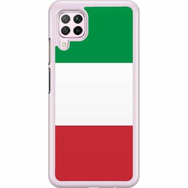 Huawei P40 Lite Hard Case (Transparent) Italien / Italy