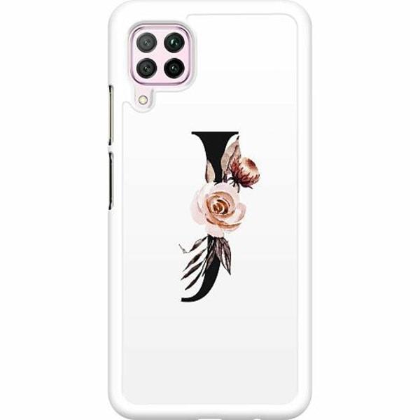 Huawei P40 Lite Hard Case (Vit) Bokstäver