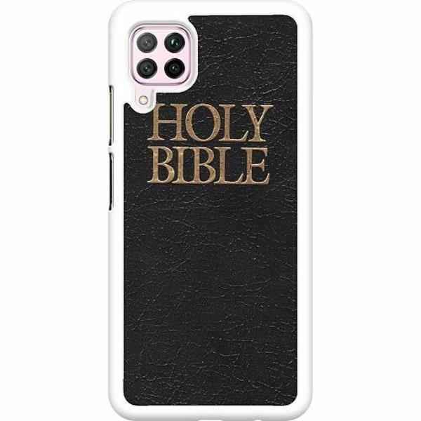 Huawei P40 Lite Hard Case (Vit) Holy Bible